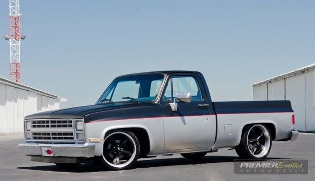 C10 ** Shop Truck ** Square Body ** Silverado