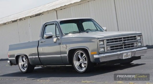 silverado square body c10 shop truck