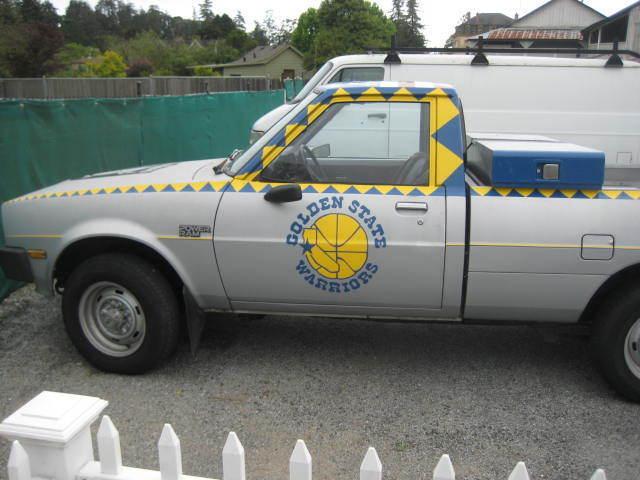39 86 dodge power ram 50 4x4 bay area sports fan truck. Black Bedroom Furniture Sets. Home Design Ideas