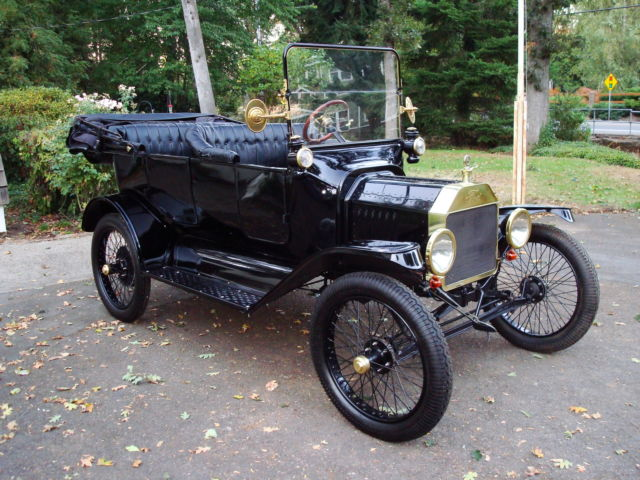 Rocky Mountain Wire | 1915 Model T Ford Brass T Touring Car Ruckstell Rocky Mountain