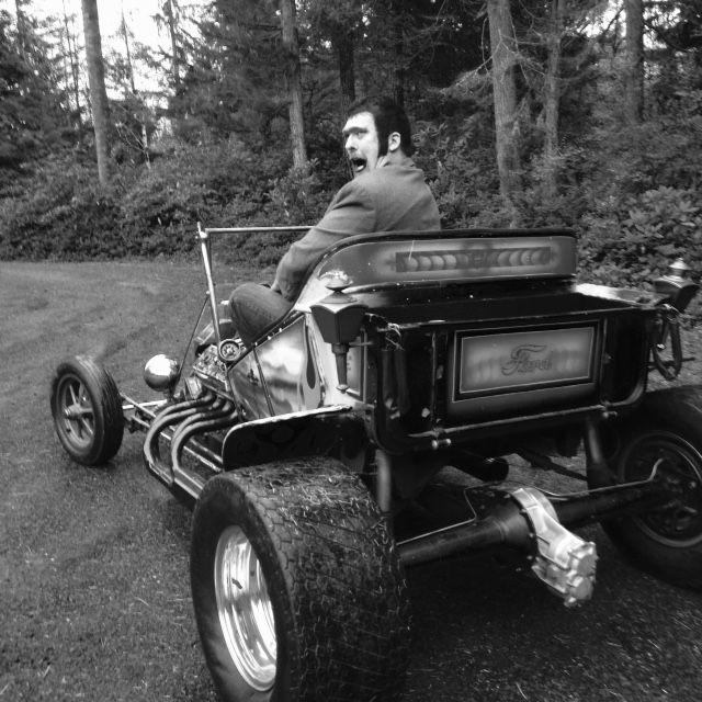1923 Ford Model T Bucket Hot Rod Custom 241 Red Ram Hemi
