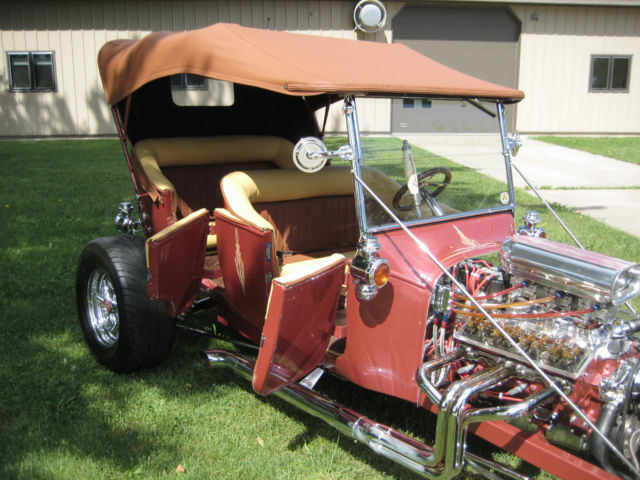 1925 Ford T W Touring Modification 4 Seater