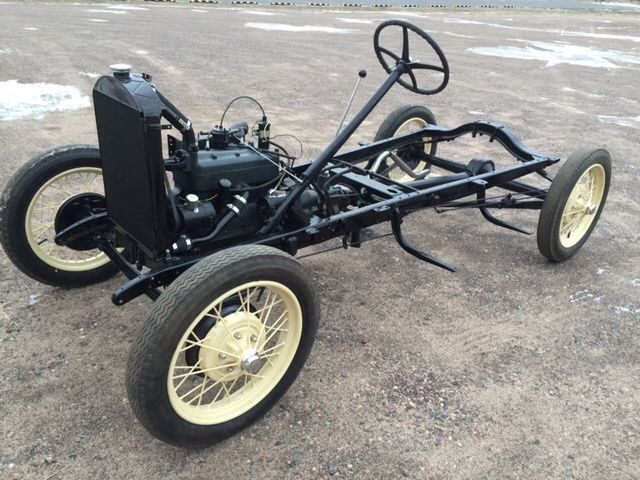 1928 1929 1930 1931 Ford Model A Restored Running Chassis