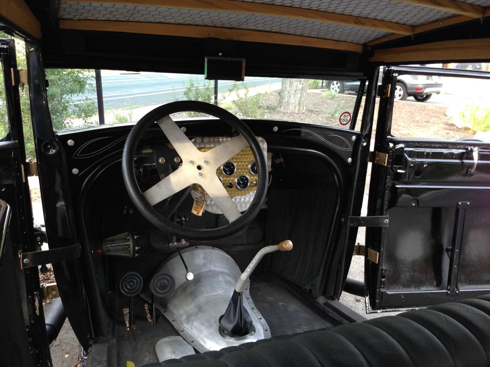 1928 FORD MODEL A TUDOR SEDAN/1932 FRAME W/ 1950 MERCURY FLATHEAD V8 ...