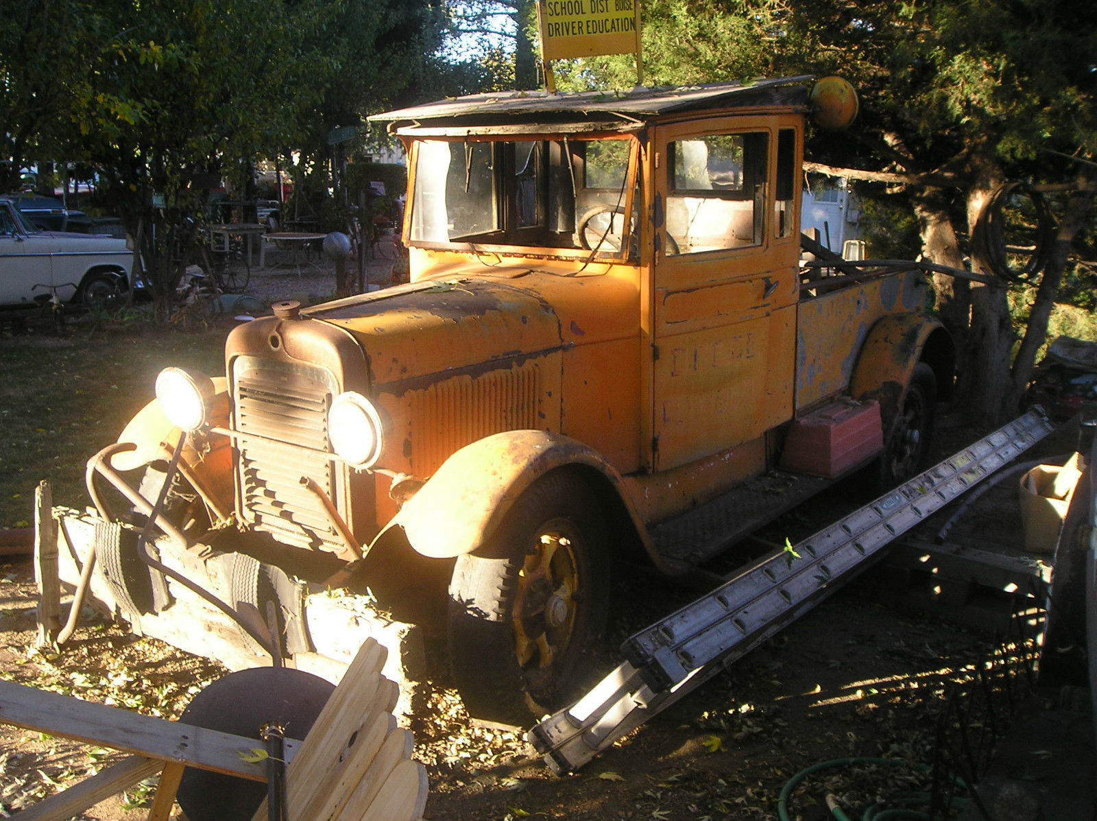 1928 Graham Brothers Work Truck Original Tow Truck Very