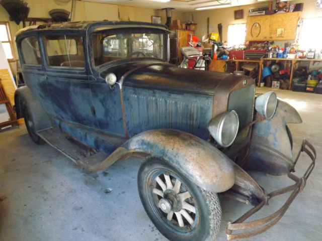 1928 studebaker dictator 2 door tudor sedan straight 8 engine project car. Black Bedroom Furniture Sets. Home Design Ideas