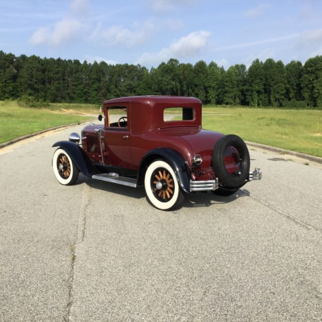 1929 Buick 116 Business Coupe Very Rare Museum Car Low Reserve