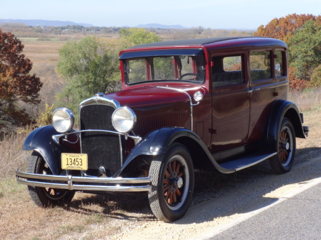 1929 dodge db dodge brothers sedan restored for 1929 dodge 4 door