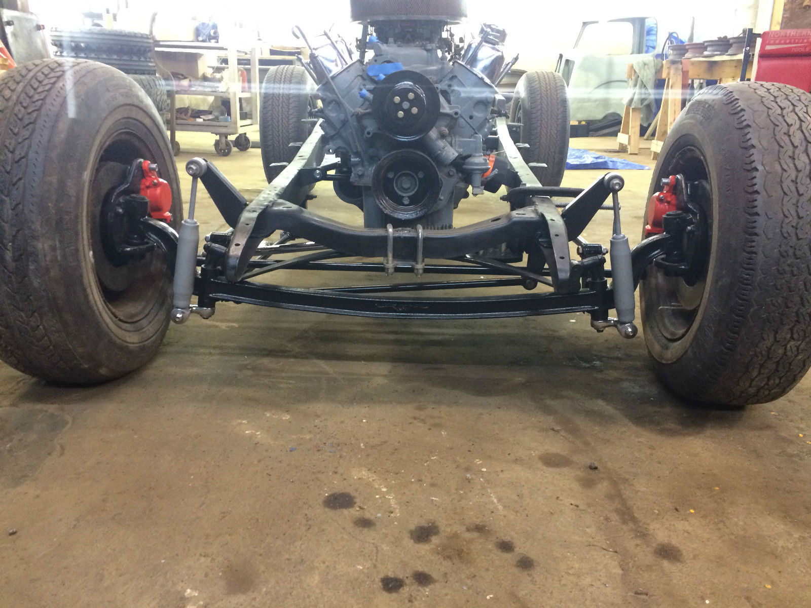 1929 Ford Hot Rod Rolling Chassis With Engine And Transmission ...