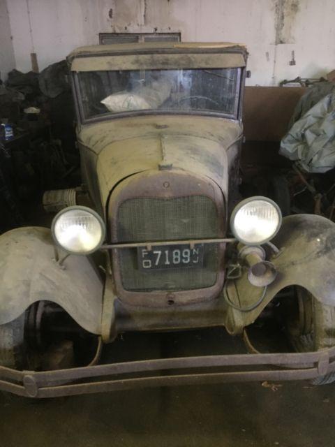 1929 ford model a 4 door sedan briggs body for 1929 ford model a 4 door sedan