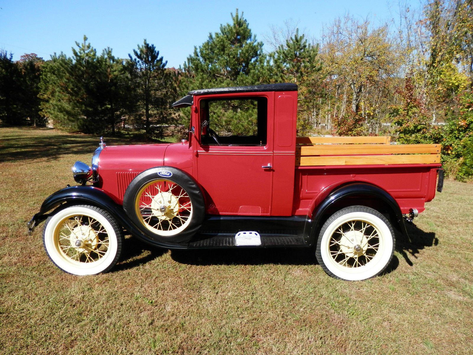 1929 Ford Model A Ford Pickup Restored Custom Classic