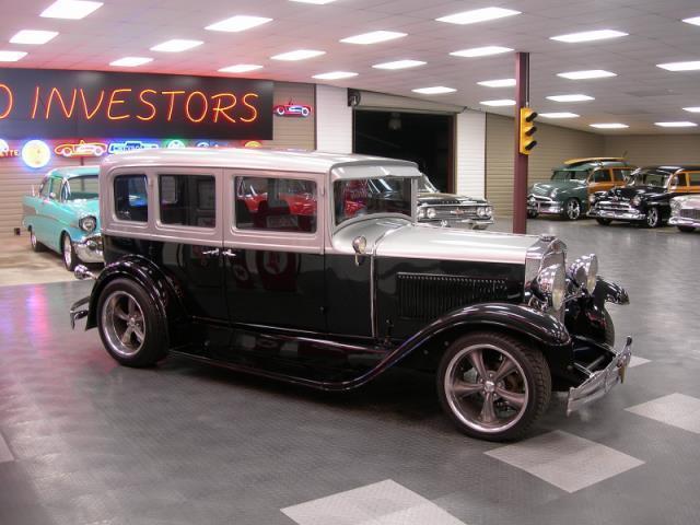 1929 Hupmobile Sedan 4 Door
