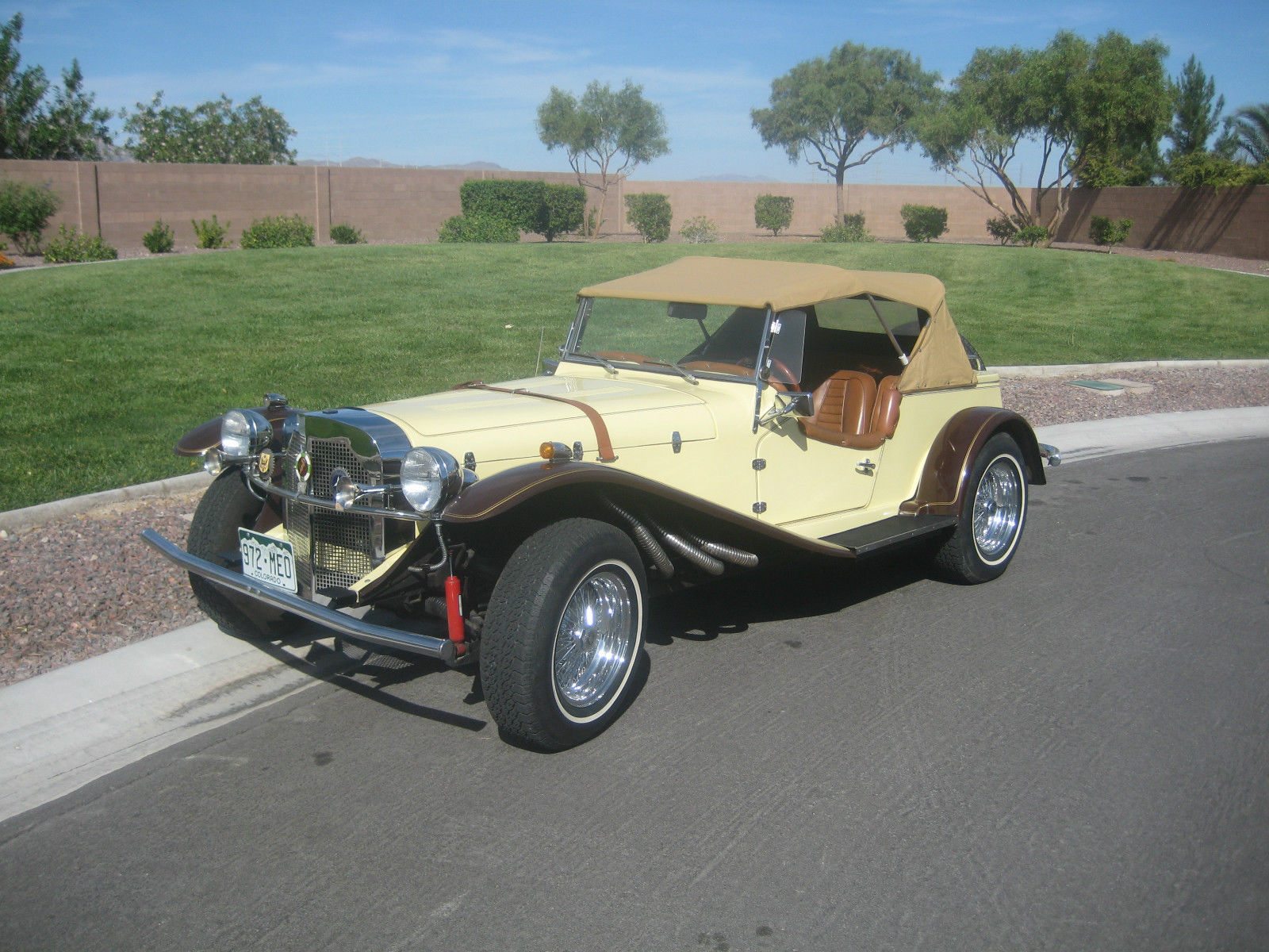 1929 MERCEDES GAZELLE ROADSTER -- REPLICA/KIT CAR*****