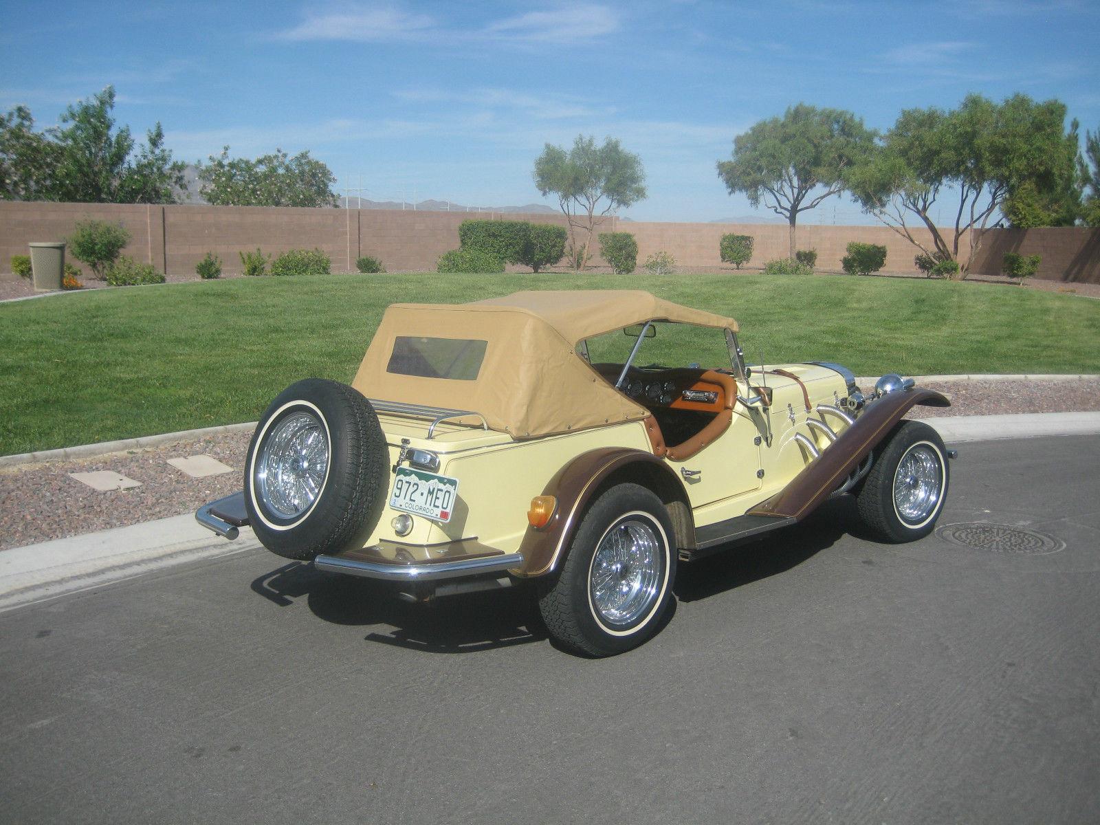1929 MERCEDES GAZELLE ROADSTER -- REPLICA/KIT CAR*****
