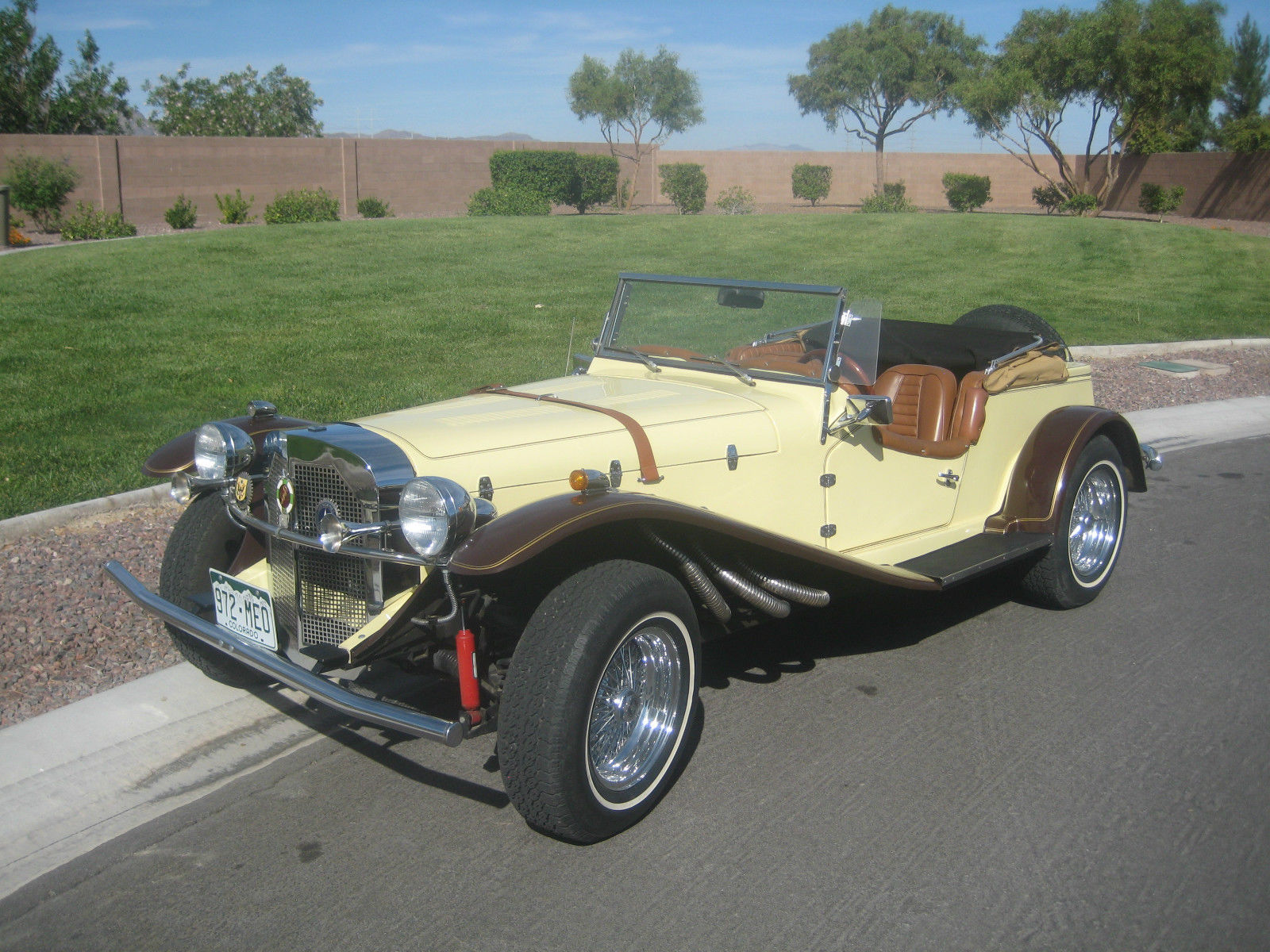 Kit Cars To Build Yourself In Usa: 1929 MERCEDES GAZELLE ROADSTER -- REPLICA/KIT CAR