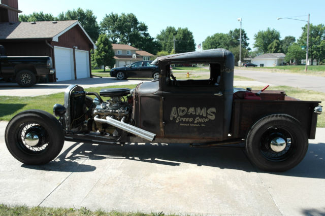 1929 model a pickup rat rod hot rod kustom jalopy. Black Bedroom Furniture Sets. Home Design Ideas