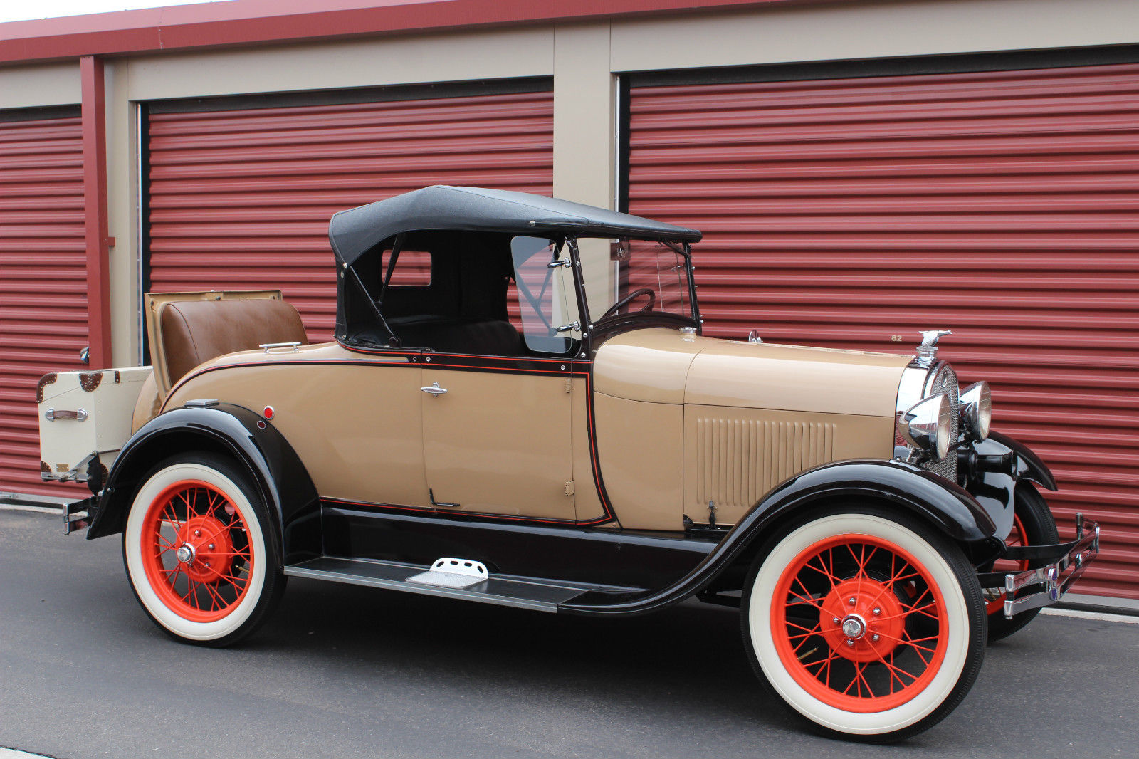 1929 Old Ford 1930 Convertible Roadster Antique Classic