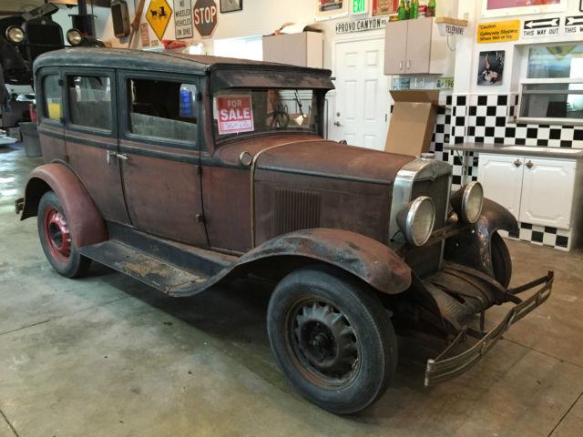 1930 chevrolet 4 door sedan runs and drives barn find 1927 for 1930 chevrolet 4 door sedan
