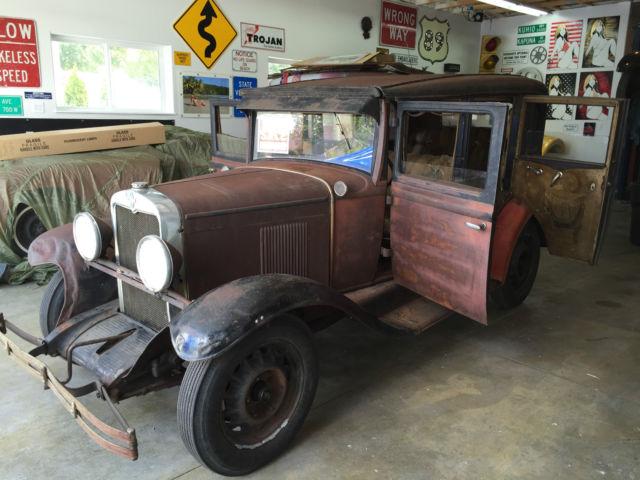 1930 chevrolet 4 door sedan runs and drives barn find 1927 for 1930 chevy 4 door