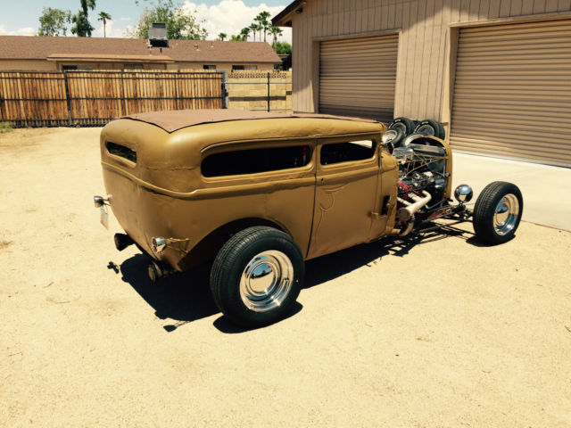 1930 Dodge 2 Door Sedan Hot Rod Rat Rod Chopped Rare Mopar Tudor Ragtop For Sale In