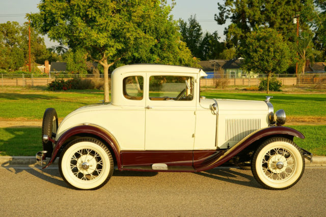 1930 ford model a 2 door coupe rumble seat antique for 1930 ford model a two door sedan