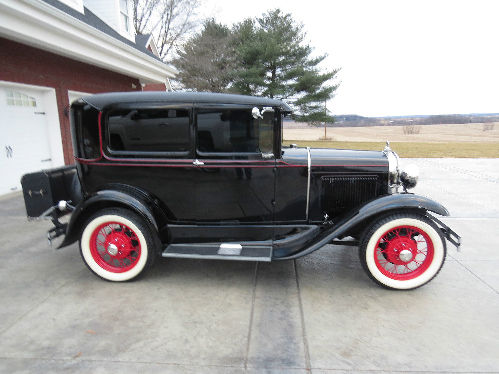 1930 ford model a 2 door sedan restored antique car