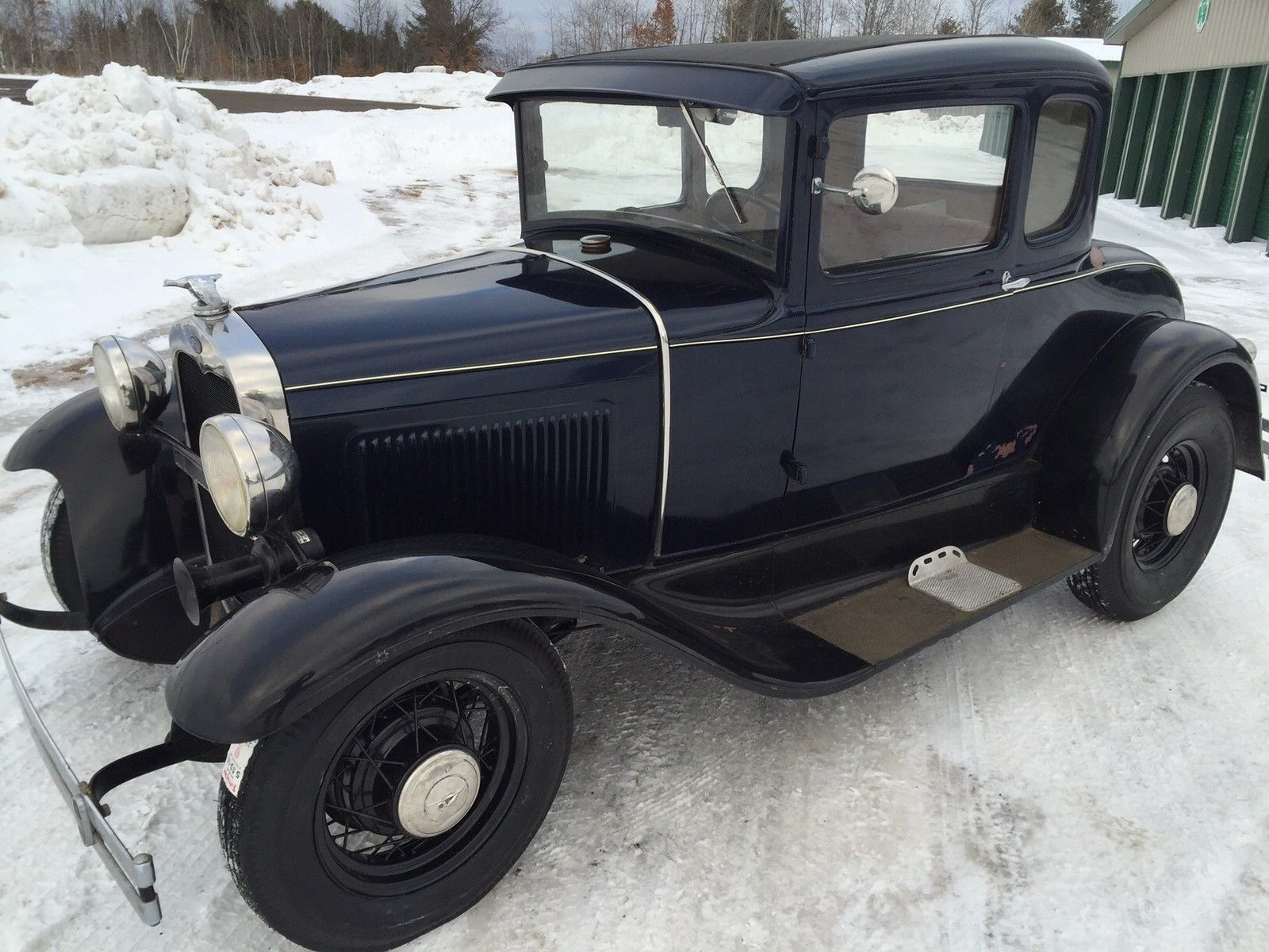1930 Ford Model A Coupe Hot Rod Banger