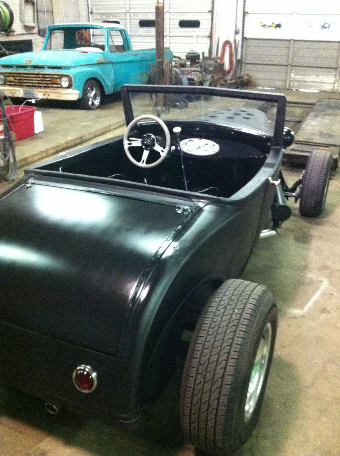 1930 ford model a sport coupe roadster hot rod rat rod. Black Bedroom Furniture Sets. Home Design Ideas