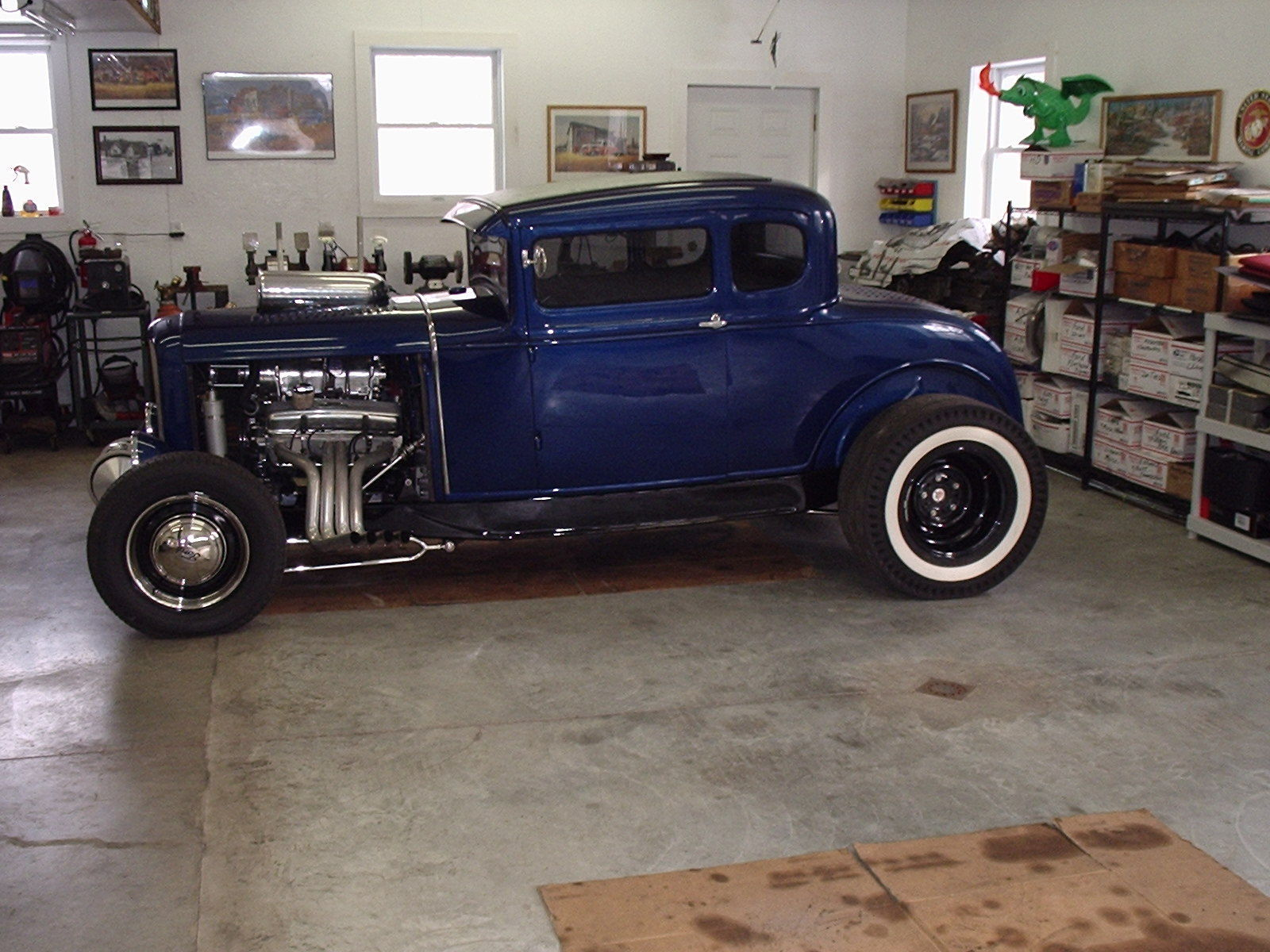 1930 Ford Traditional Hot Rod Coupe on 32 Chassis for sale in Red ...