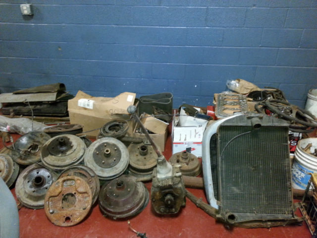 Ford Model A Parts List : Model a and surplus parts lot