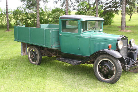 1930 Model A ford flatbed truck AA older restoration - Classic Ford