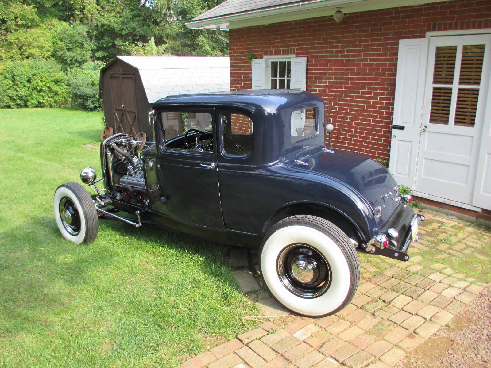 how to build a 32 ford frame