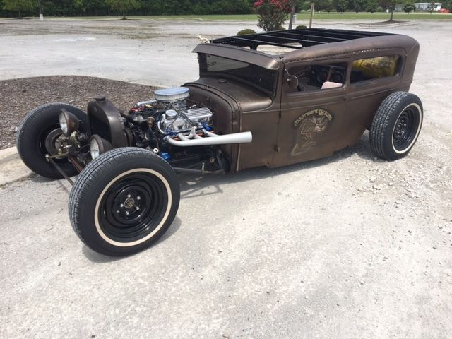 1930 model a sedan chopped rat rod. Black Bedroom Furniture Sets. Home Design Ideas