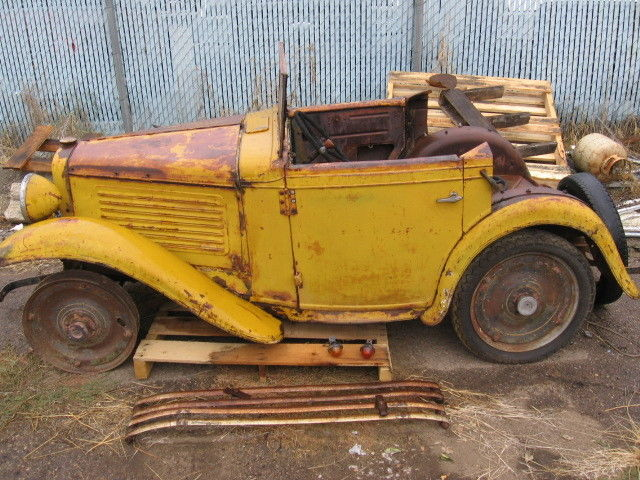 1930 Other Makes Austin Bantabarn Find Old Car Project Car
