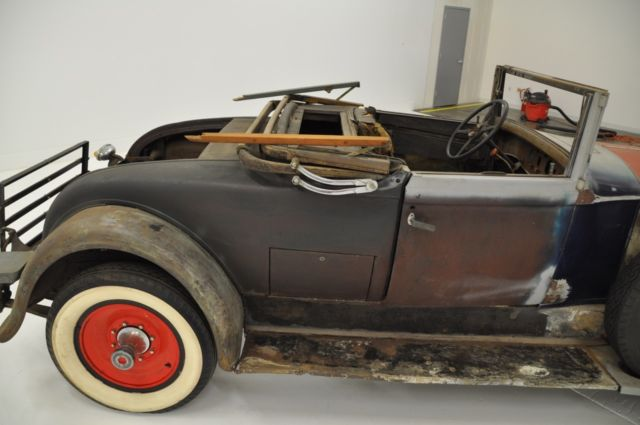 1930 packard 740 custom eight convertible coupe needs restoration. Black Bedroom Furniture Sets. Home Design Ideas