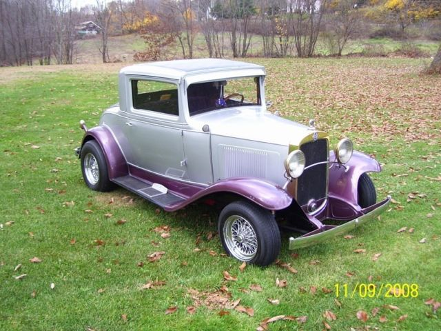 1931 chevrolet 3 window coupe all steel for 1931 chevy 3 window coupe
