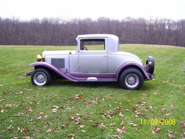 1931 chevrolet 3 window coupe all steel for 1931 chevy 5 window coupe