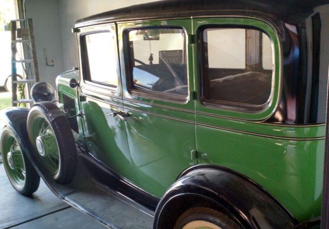 1931 chevy american independence 2 door sedan for 1931 chevrolet 2 door sedan
