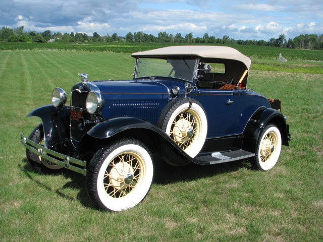 Dependable Used Cars >> 1931 Deluxe Ford Model A Roadster