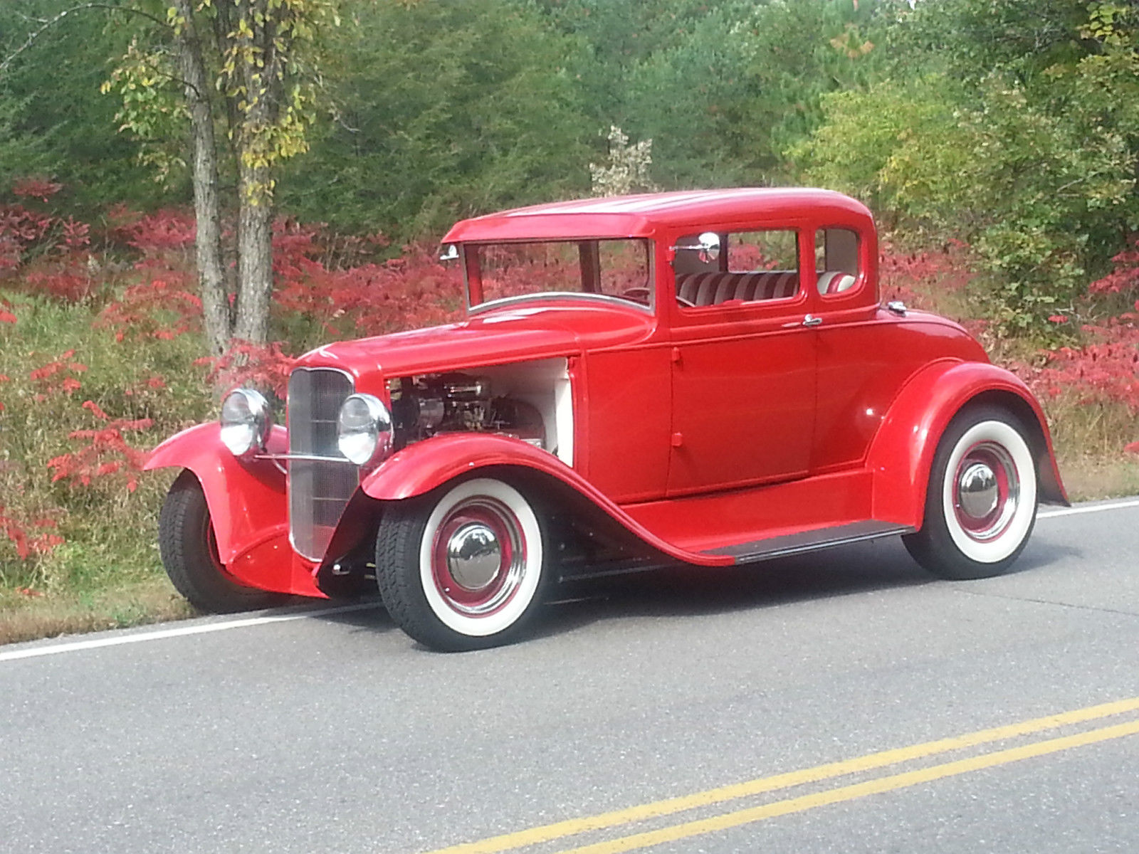 1931 ford model a 5 window coupe traditional hot rod henry ford steel. Black Bedroom Furniture Sets. Home Design Ideas
