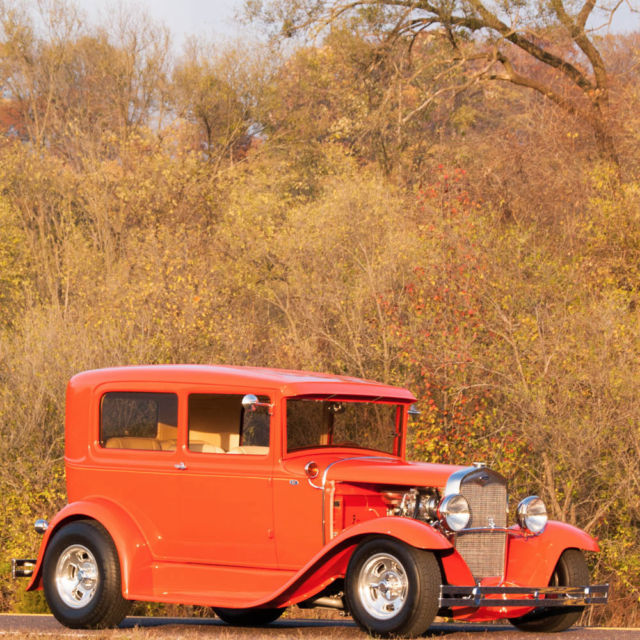 1931 ford model a 2 door sedan full custom street rod for 1931 ford model a 2 door sedan