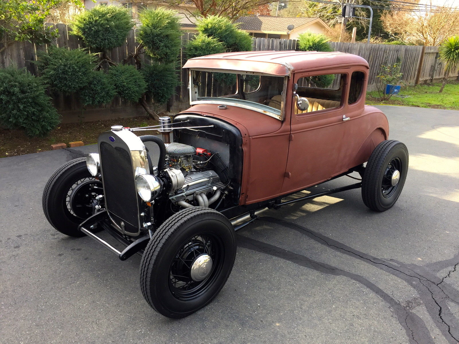 1931 Ford Model A Coupe Hot Rod V8 California Car 1928