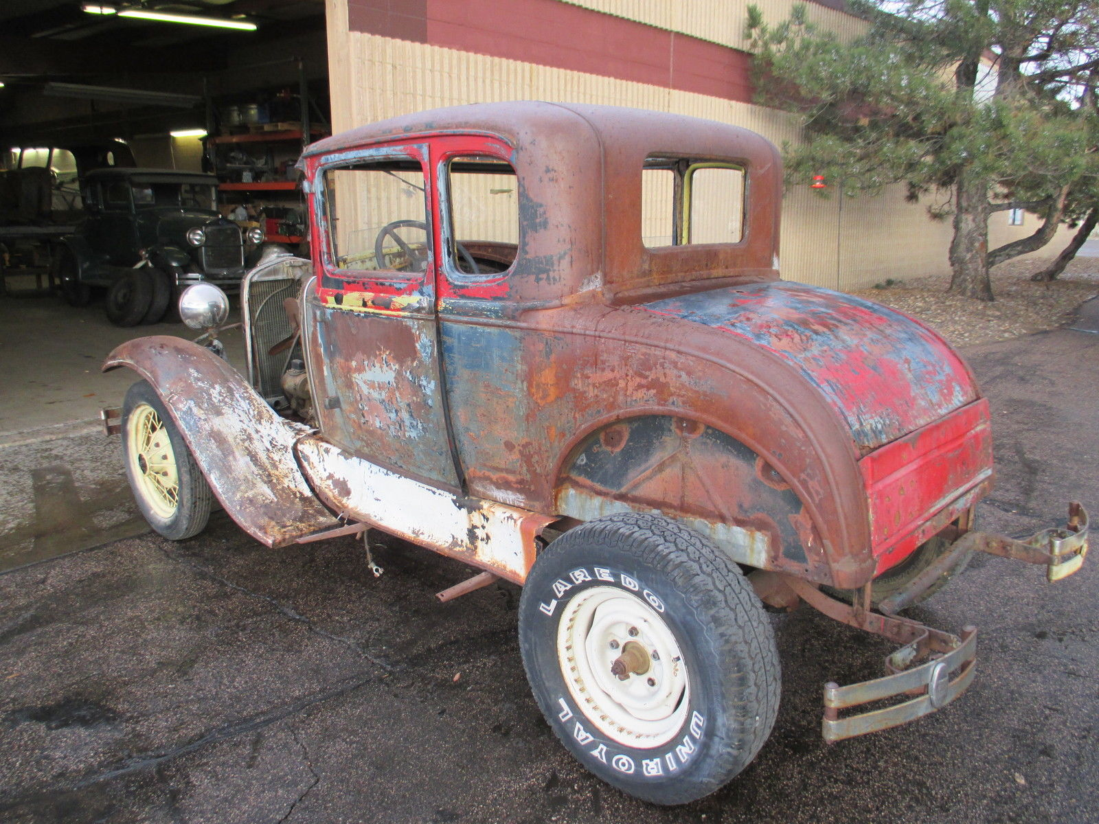 1931 Ford Model A Coupe Rumble Seat --- Great Project Ratrod ...