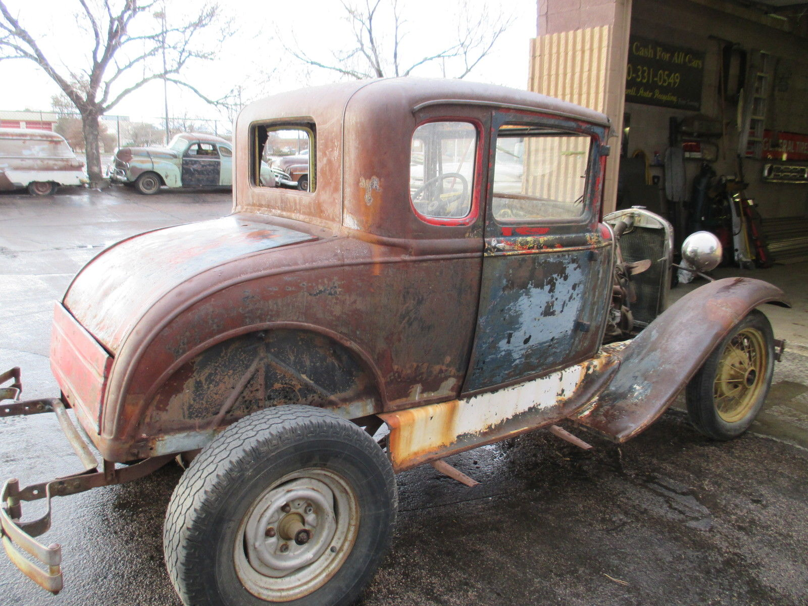 1931 ford model a coupe rumble seat great project ratrod hotrod scta gasser for sale in. Black Bedroom Furniture Sets. Home Design Ideas