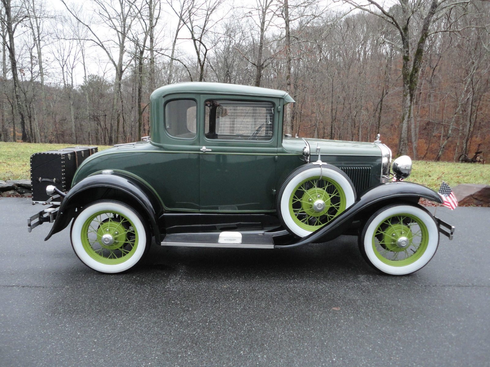 1931 ford model a deluxe 5 window coupe all steel for. Black Bedroom Furniture Sets. Home Design Ideas