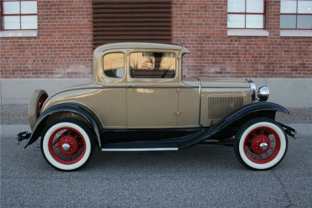 1931 Ford Model A Frame off professional restoration Museum