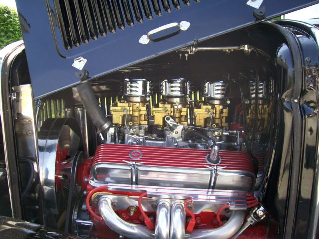 1931 Ford Model A Pickup Truck,All Steel,Black, 350 Chevy ...