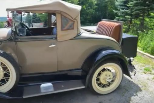 1931 Ford Model A Roadster Deluxe Convertible W 5k Orig