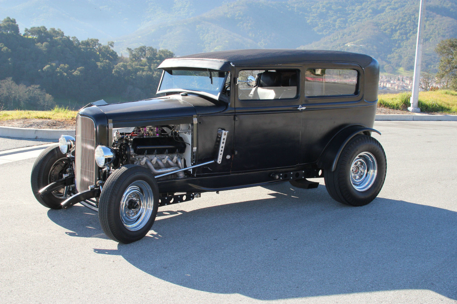 1931 ford model a tudor hot rod. Black Bedroom Furniture Sets. Home Design Ideas