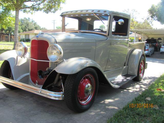 1931 ford other model a pickup hotrod street rod muscle car. Black Bedroom Furniture Sets. Home Design Ideas